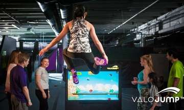 Valo Motion Launches Interactive Trampoline Game Platform
