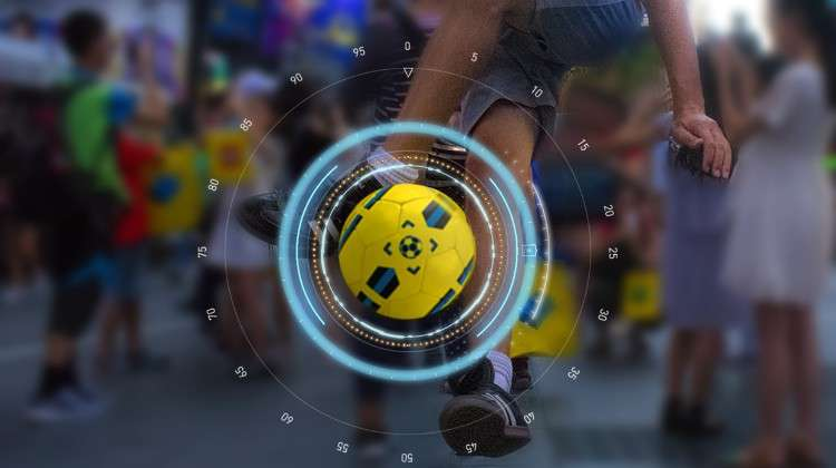DribbleUp Smart Basketball and Smart Soccer Ball Deliver Effective Drills Using Augmented Reality