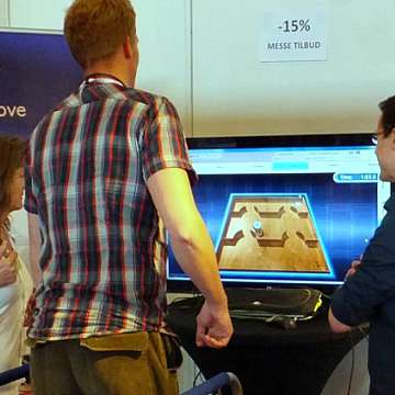 Sensamove Solutions Combine Biofeedback with Games to Train Balance and Stability