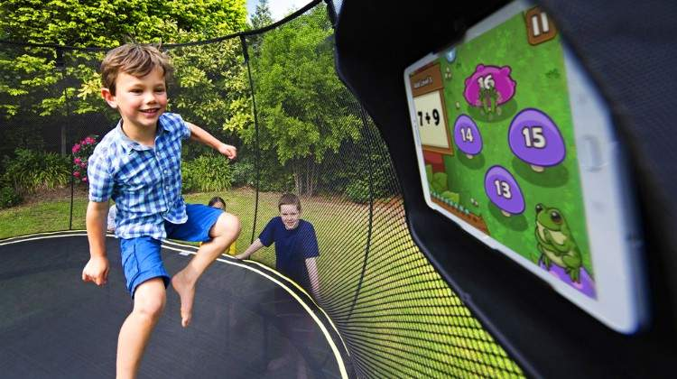 Springfree Delivers Active Learning with the Smart Trampoline